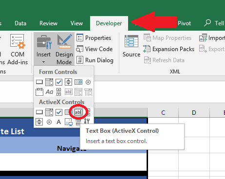 Excel Visual Basic #4: Create A Web Favorites List – Page 2