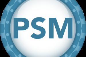Professional Scrum Master (PSM) Logo