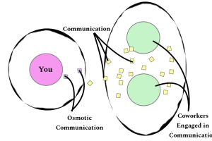 Osmotic Communication Visual