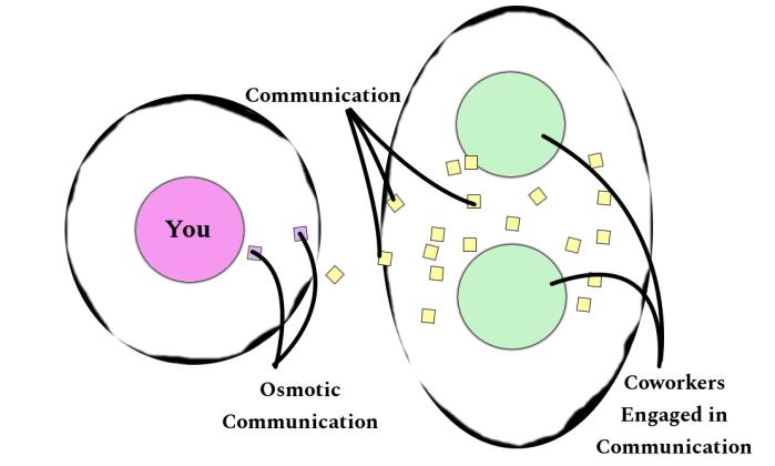 Osmotic Communication Visual