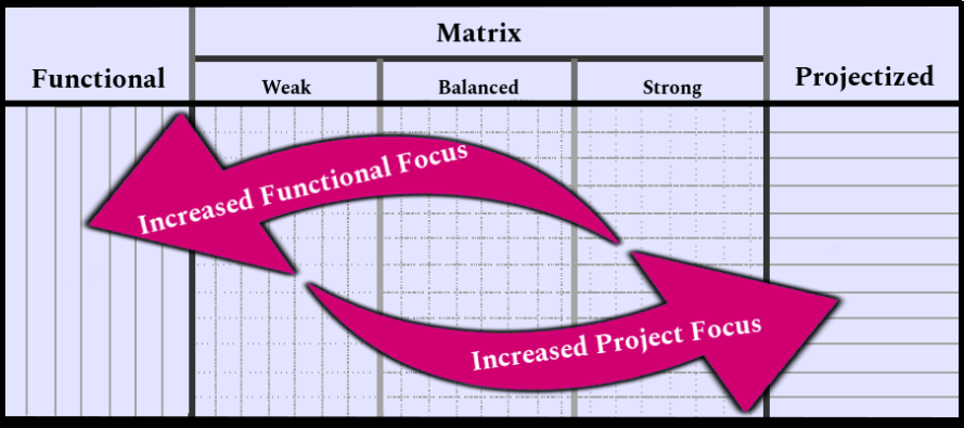 Organizational Structures - Functional, Matrix, Projectized
